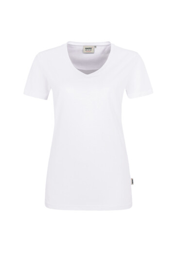 HAKRO Damen T-Shirt Mikralinar Farbe weiß